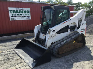 2014 Bobcat T770 Compact Track Skid Steer Loader Loaded With Opt