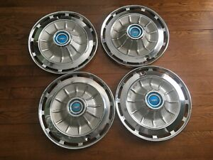 1962 Chevy Impala Bel Air Biscayne 14 Hubcaps Hub Caps Wheel Covers Set Of 4