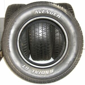Used Set Of 4 Mastercraft Tires P235 60r14 Avenger Radial Gt Rwl 96s 2356014