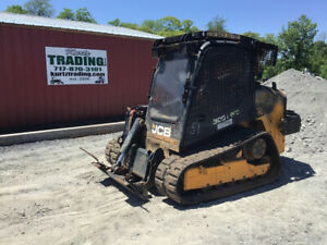 2013 Jcb 300t Compact Track Skid Steer Loader W Cab High Flow Winch Coming Soon