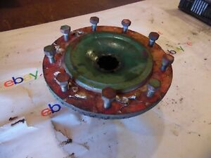 1941 Oliver 60 Row Crop Farm Tractor 9 Hole Rear Hub nice