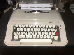 Royal Portabel Slimline Small 1960s Re conditioned Manual Typewriter