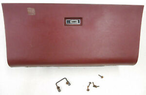 Vintage 80 s 90 s 88 Buick Lesabre Gm Glove Box W Lid Lock Striker Screws