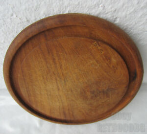 Antique Vintage Primitive Wooden Round Cutting Board