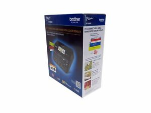 Brother P touch Pt d600 Label Maker W color Display