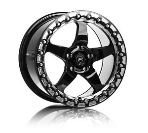 17 Forgestar D5 Beadlock 17x10 Rotary Forged Drag Wheels For Dodge Demon