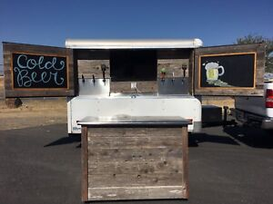 Custom Cold Refrigerated Draft Beer Mobile Entertainment Trailer