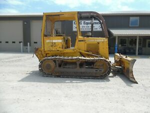1991 John Deere 650g Dozer Forestry Package With 4000 Series Winch