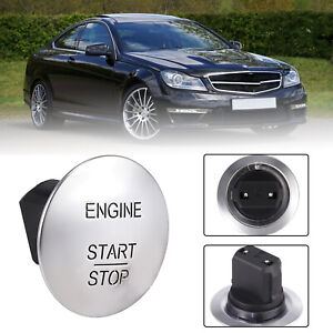 Keyless Engine Start Stop Push To Go Button Switch For Mercedes Benz 2215450714