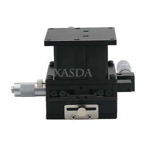 Xyz 3 axis Manual Linear Stage Micrometer Linear Stage Crossed roller 3 Models