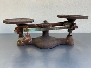 Vintage Antique Cast Iron Jacobs Bros Detecto No Bakers Baking Scale