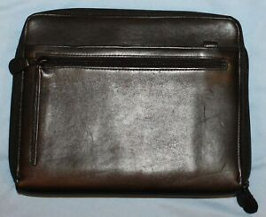 Franklin Covey 7 1 1 8 Rings Leather Multi Compartment Purse Planner Classic