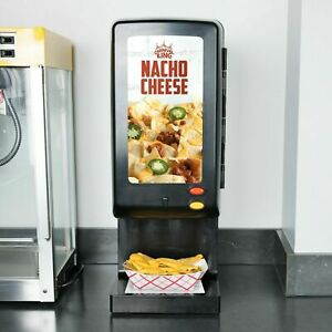 Commercial Nacho Chili Chips Cheese Dispenser 110 Oz Bag Heater Warmer Stand