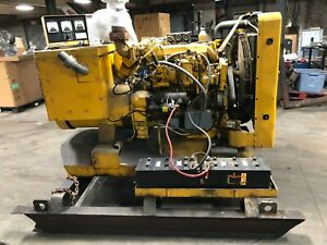 Cat D330 Caterpillar Diesel Generator 4 Cyl 4 75 Bore 6 Stroke 10206hrs Can Ship