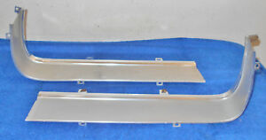 1967 1968 Mustang Fastback Coupe Gt A Convertible Orig Grille L R Surround Trim