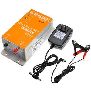 Solar Electric Fence Energizer Charger Xsd 270a High Voltage Pulse Power Supply