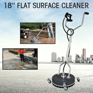 18 Flat Surface concrete Cleaner Pressure Washer 4000psi 275bar Cold hot Water
