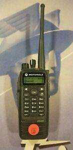 Motorola Xpr 6550 Uhf Two way Radio Aah55tdh9la1an Clean W Battery And Clip