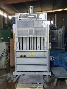 Msi V60 Baler For Cardboard Plastic Metal Carpet Paper Clothes