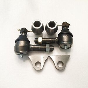 Hot Rod Split Wishbone Kit With Frame Tabs With Zerk Fittings