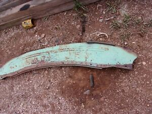 1946 1948 Chevrolet Coupe Convertible Fleetline Rear Bumper Gravel Pan Shield