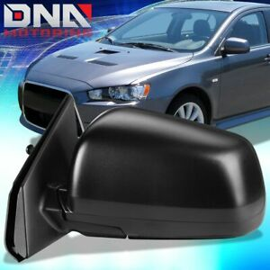 For 2008 2014 Mitsubishi Lancer Oe Style Power Heated Left Door Mirror 7632a095