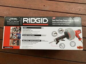 Ridgid 35473 K 45af Sink Drain Cleaning Machine
