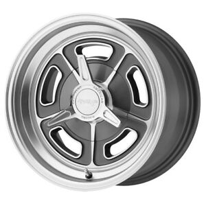 1 New 15x7 American Racing Vn502 Mag Gray Machined Wheel Rim 5x120 65 Et0