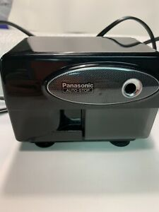 Panasonic Electric Pencil Sharpener Automatic With Auto Stop Black Model Kp 310