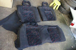 Jdm Honda Civic Ek4 Ctr Type R Rear Zenki 97 98 Hatchback Seats B16b Ek So3 Ek9
