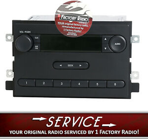 Remanufacture Service For 2006 Ford F150 Pickup Truck Am Fm Radio