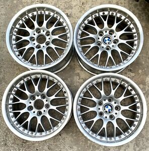 Bmw E39 540 530 525 Bbs Rs740 Style 42 17x8 Wheels Set Of 4 Squared Oem 1094377