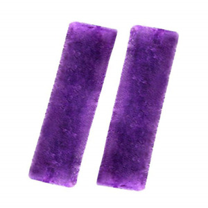 2pack Car Seat Safety Belt Cover Auto Seat Belt Guitar Shoulder Pads Soft Purple