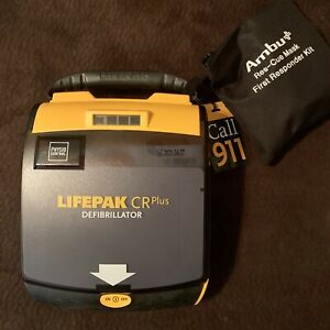 Physio Control Lifepak Cr Plus Fully Automatic Aed Never Used New Pads
