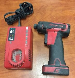 Snap On Cts761 Lithium Ion 1 4 Cordless Screwdriver
