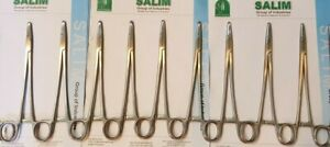 24 Suture Needle Holder Driver 8 Stainless Surgical Instruments Salim group