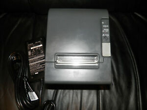 Epson Tm t88iv Thermal Pos Receipt Printer M129h Serial With Power Supply