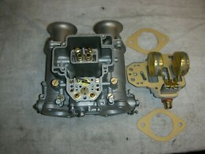 Weber 40 Dcoe Side Draft Carbs Bead Blasted Clean All New Gaskets N
