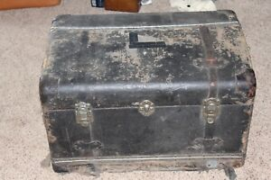 Packard Touring Automobile Original 2 Door Trunk Wood Canvas Very Solid