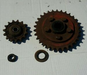 Massey Ferguson Square Baler Pinion Gear Main Drive Idler Sprockets Model 10
