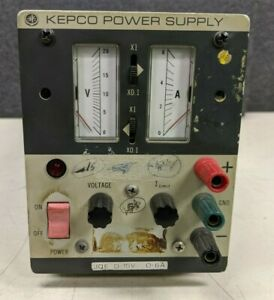 Kepco Power Supply Jqe 15 6 a18