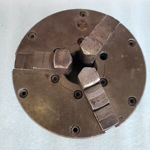 Buck 3 jaw Self Centering Lathe Chuck 6 Inch With Back Plate Adjust True