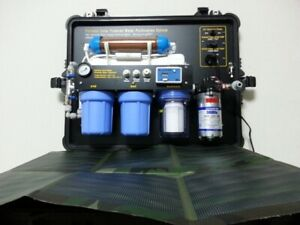 Portable Solar Powered Water Purification System