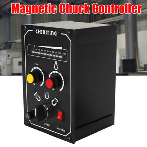 Electro Magnet Chuck Controller 5a 110v Demagnetizing 9 15s Easy To Operate Hot