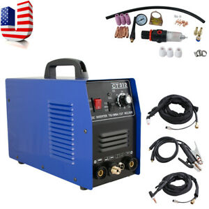 Top Sell 3in1 Tig mma Air Plasma Cutter Welder Welding Torch Machine 3 Functions