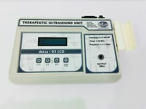 Professional Chiropractic 3 Mhz Ultrasound Therapy Machine Pulse Massager Unit K