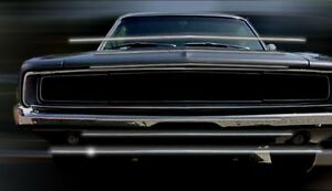 1968 Charger Grill Moldings 2 Pcs Clearance
