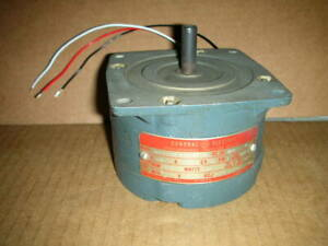 General Electric Ge 5smy51ce3 Motor 120vac 75 rpm 50 oz in Vgc