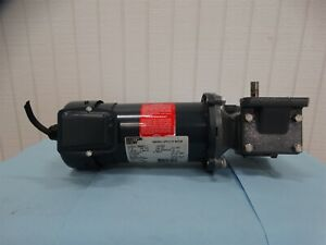 Boston Gear Pm950atf i Dc Gear Motor 1 2hp 1725rpm 90vdc 5 4a Frame 56c