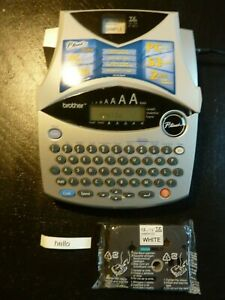 Brother P touch Pt 1950 Portable Label Maker Printer W Power Adapter